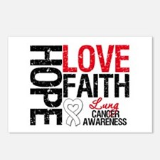 Lung Cancer Faith Postcards (Package of 8)