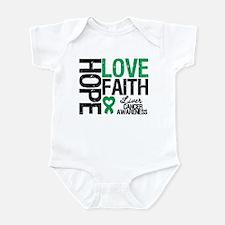 Liver Cancer Faith Infant Bodysuit
