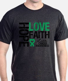 Liver Cancer Faith T-Shirt
