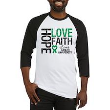 Liver Cancer Faith Baseball Jersey