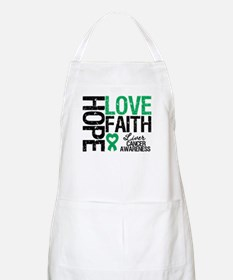 Liver Cancer Faith BBQ Apron