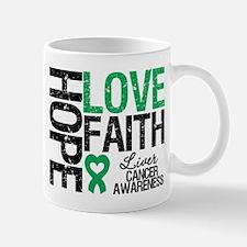 Liver Cancer Faith Mug