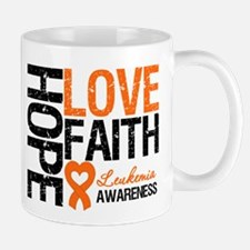 Leukemia HopeLoveFaith Mug