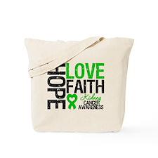 Kidney Cancer Faith Tote Bag