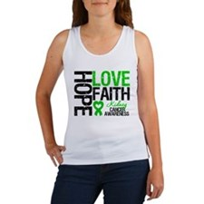 Kidney Cancer Faith Women's Tank Top