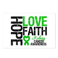 Kidney Cancer Faith Postcards (Package of 8)