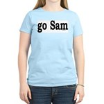 go Sam Women's Pink T-Shirt
