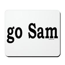 go Sam Mousepad