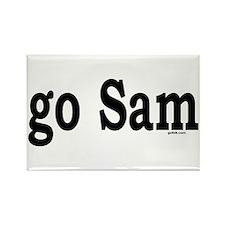 go Sam Rectangle Magnet