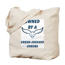 Green-cheeked Conure Tote Bag