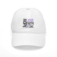 Cancer Hope Love Faith Baseball Cap