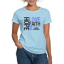 Esophageal Cancer Faith T-Shirt