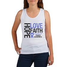 Esophageal Cancer Faith Women's Tank Top