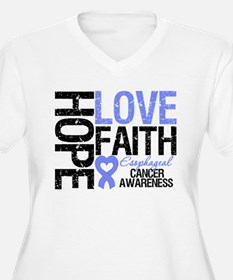 Esophageal Cancer Faith T-Shirt