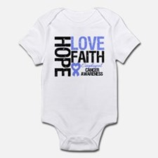 Esophageal Cancer Faith Infant Bodysuit