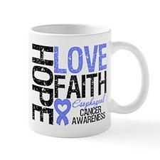 Esophageal Cancer Faith Mug