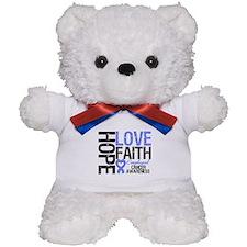 Esophageal Cancer Faith Teddy Bear