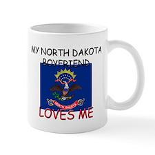 My North Dakota Boyfriend Loves Me Mug