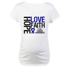 Colon Cancer Faith Shirt