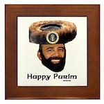 Presidential Purim Framed Tile