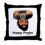 Presidential Purim Throw Pillow