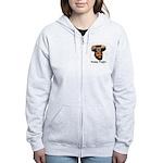Presidential Purim Women's Zip Hoodie