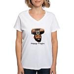 Presidential Purim Women's V-Neck T-Shirt