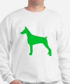 Doberman Pinscher St. Patty's Day Sweatshirt