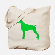 Doberman Pinscher St. Patty's Day Tote Bag