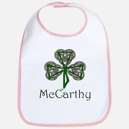 McCarthey Shamrock Bib