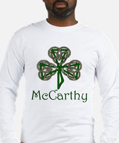 McCarthey Shamrock Long Sleeve T-Shirt
