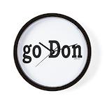 go Don Wall Clock
