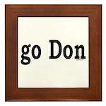 go Don Framed Tile
