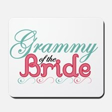 Grammy of the Bride Mousepad