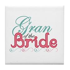 Gran of the Bride Tile Coaster