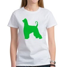 Afghan Hound St. Patty's Day Tee