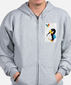 Tux Swat Zipped Hoody