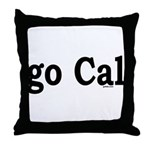 go Cal Throw Pillow