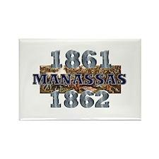 ABH Manassas Rectangle Magnet