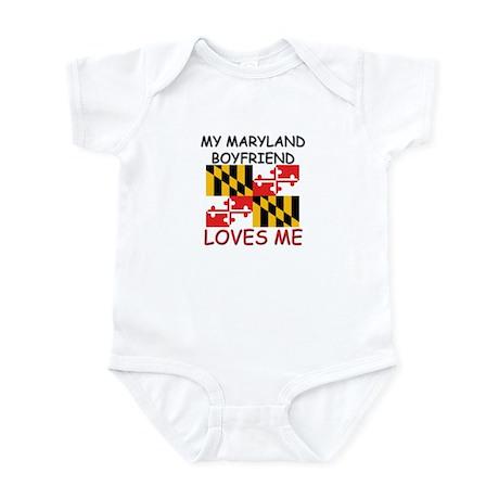 My Maryland Boyfriend Loves Me Infant Bodysuit