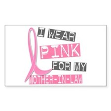 I Wear Pink For My Mother-In-Law 37 Decal