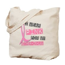 I Wear Pink For My Mother-In-Law 37 Tote Bag
