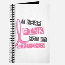 I Wear Pink For My Mother-In-Law 37 Journal