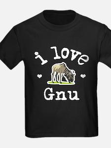 'I Love Gnu' T
