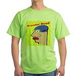 Motor Scooter Green T-Shirt