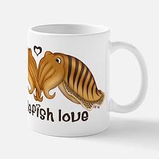 Cuttlefish Love 1 Mug