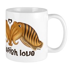 Cuttlefish Love 1 Mug