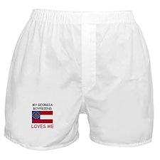 My Georgia Boyfriend Loves Me Boxer Shorts