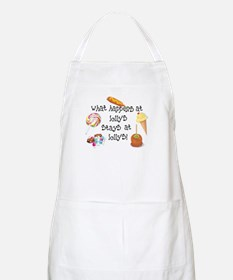 What Happens at Lolly's... BBQ Apron