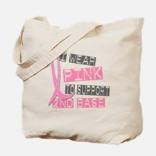 I Wear Pink To Support 2nd Base 37 Tote Bag